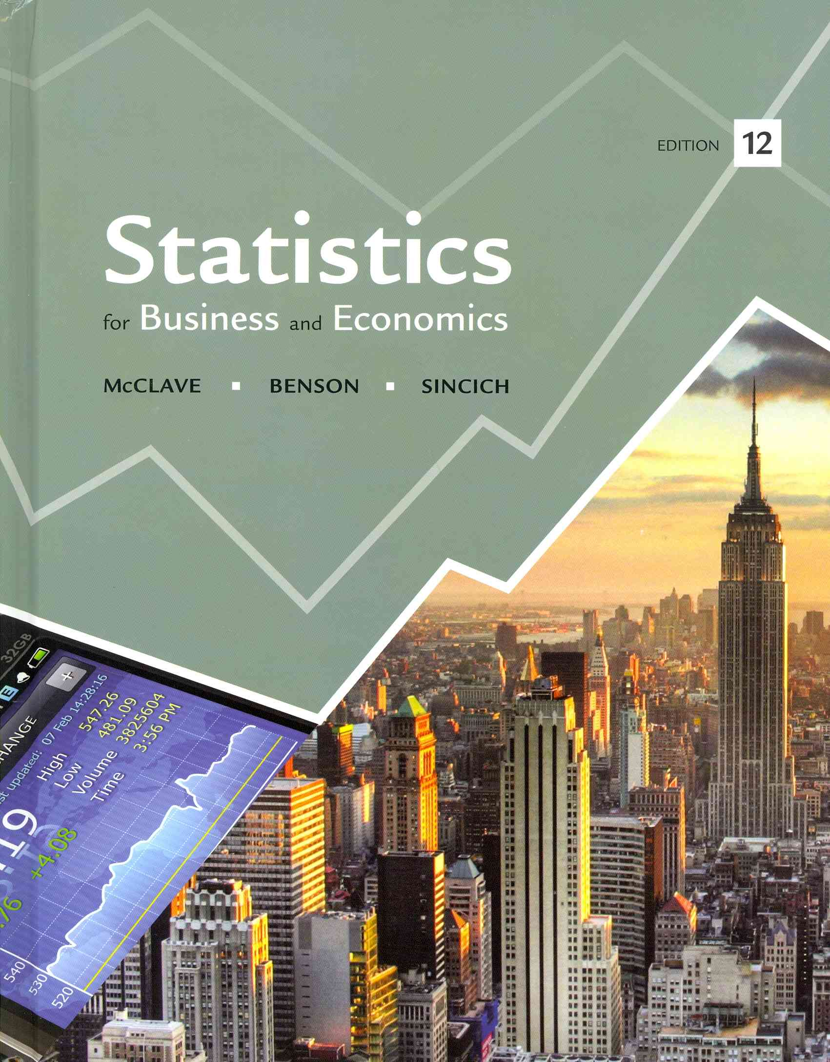 Statistics + Student's Solutions Manual By McClave, James T./ Benson, P. George/ Sincich, Terry